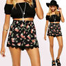 Fashion Floral High Waist Lace Summer Women's Shorts Casual Beach Sexy Pants NEW