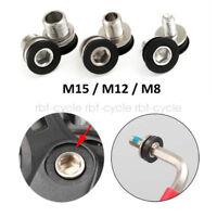 2PCS Crankset Crank Bolt MTB Bike Bottom Bracket Axle SRAM SHIMANO M8/M12/M15