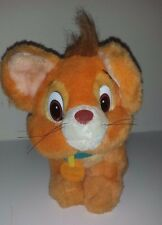 """1988 Vintage OLIVER Cat Oliver & Company Movie 5th Avenue Sears Plush toy 10"""""""