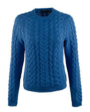 Polo Ralph Lauren Women's Aran-Knit Crewneck Sweater-FB-XL
