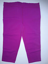 Prana Sz M - Cropped Pant tight legging - Fuschia Pink