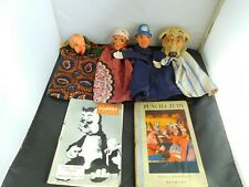 CHARMING ANTIQUE EARLY 20TH CENTURY PUNCH & JUDY SET
