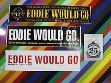 vtg Eddie Aikau Quiksilver surf street sticker - in memory of