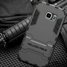 Phone Cover Case ARMOR KICK-STAND DOUBLE LAYERS For Samsung Galaxy S6 EDGE+ PLUS
