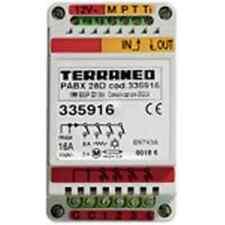 BTICINO TERRANEO 335916 modulo 3DIN per espans. di 4 relè per centralini telef.