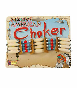 Native American Pocahontas Indian Choker Costume Accessory
