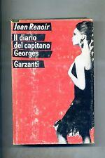 Jean renoir # IL DIARIO DEL CAPITANO GEORGES # Garzanti 1968 1A ED.