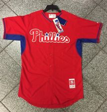 Large NWT Brand New 2018 MLB Philadelphia Phillies Phills Red Jersey Majestic