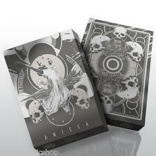 Anicca Silver Deck Playing Cards Poker Size USPCC Limited Edition New Sealed