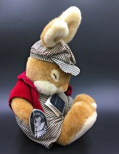 """Non Non Bunny Rabbit Boy 12"""" Soft Toy Cranberry JR 3804 Gemini Sofftees With Tag"""