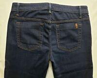 Joes Jeans Petite Boot Cut Womens Blue Denim Size 27 x 30 Dark Wash Mid Rise EUC