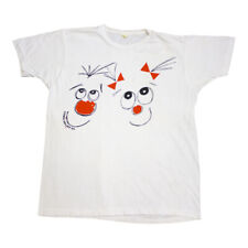 Comic Relief 89 Tshirt   Vintage 80s British Charity Comedy Red Nose Day VTG