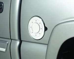 Fuel Door Cover-Chrome TM Auto Ventshade 688773