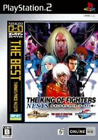 PS2 THE KING OF FIGHTERS Nests The Best Import Japan