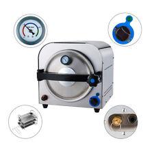 14L 900W Dental Autoclave Steam Sterilizer Medical Sterilization Equipment USA