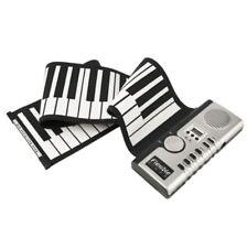 Roll Up Electronic Piano 61 Keys Silicon Digital Flexible Clavier avec 128 Tone
