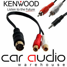 AUTOLEADS pc1-504 AUTO KENWOOD Radio Stereo MP3 iPod iPhone AUX In Adattatore Lead