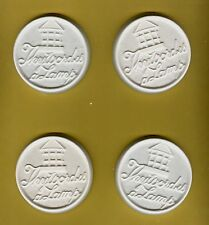 """""""Thy word is a Lamp"""" w/ lantern plaster of Paris painting project. Set of 6!"""
