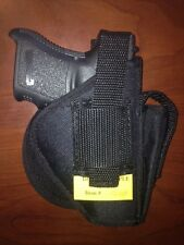 Nylon Paddle Belt Holster with Thumb Break Right Handed only No Belt Required