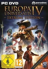 Europa Universalis IV -- Extreme Edition (PC, 2013, DVD-Box) Neu & OVP
