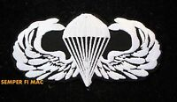 PARATROOPER PATCH US ARMY PARACHUTE AIRBORNE JUMP WING ARMY AIR CORPS FORCE USAF