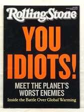 ROLLING STONE MAGAZINE ISSUE 1096 GLOBAL WARMING LADY GAGA U2 JANUARY 2010 RARE!