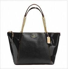 Coach Patent Leather Tote & Shopper Handbags
