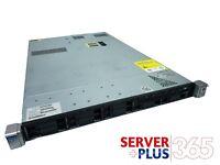 HP ProLiant DL360p G8 server, 2x E5-26xx v2 CPUs, 64GB to 512GB RAM