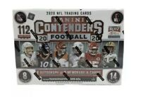 2020 Panini NFL Contenders Football Sealed MEGA Box - Burrow, Herbert, Tua?