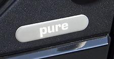 2 badge logo pure Smart Fortwo 450 Forfour Genuine Original decal sticker brabus