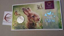 5 euro 2019 Austria Autriche Österreich Ostern coniglio rabbit Kaninchen bunny
