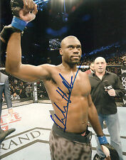 URIAH HALL SIGNED 8X10 PHOTO PROOF AUTOGRAPHED UFC MMA ULTIMATE FIGHTER 2