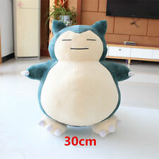 2017 Jumbo SNORLAX Pokemon Center Kabigon Plush Toy Soft Doll 30cm Figure Gift