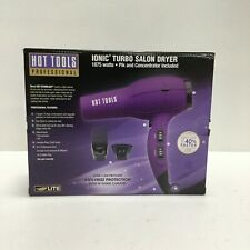 Hot Tools Hair Dryer Professional Anti-Frizz Protection 1875W, 2 Attachments