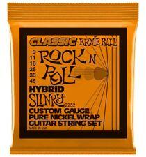 Ernie Ball 2252 - Jeu de cordes guitare électrique Classic Rock'N'Roll - Hybrid