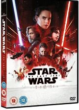 STAR WARS THE LAST JEDI DVD (2018) BRAND NEW AND SEALED QUICK POSTAGE