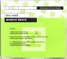 LOU REED - MODERN DANCE - RARE PROMO CD SINGLE - MINT