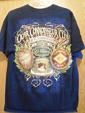 CIGAR Connisseur Club black graphic L t shirt