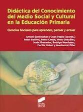 DIDACTICA CONOCIMIENTO MEDIO SOCIAL CULTURAL PRIMARIA. ENVÍO URGENTE (ESPAÑA)