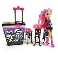 Monster High Social Spots Creepateria Playset Howleen Wolf MISSING Accessories