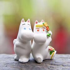 2pcs Moomin Valley Muumi Snorkmaiden Resin Figures Toy Home Yard Decor