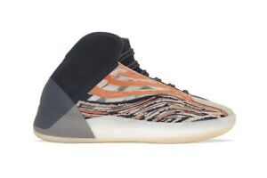 Adidas YZY QNTM Flash Orange Shoes Sz 10.5 Yeezy
