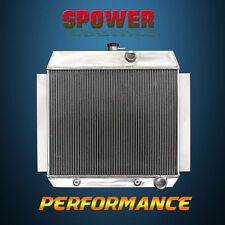 3-Row/CORE Aluminum Radiator For Chevrolet Bel Air Truck Corvette L6 49-54 62mm