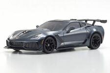 Kyosho MINI-Z MR-03 RWD Corvette ZR1 Readyset, Gray Metallic w/LED Lights