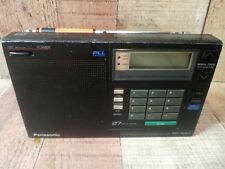 Panasonic RF-B40 DL FM-LW-MW-SW PLL Synthesized Receiver Radio 27 Station Memory