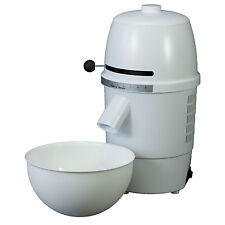 Hawos Novum Grain Mill with Funnel and Bowl Color: White 4.4 oz / Minute