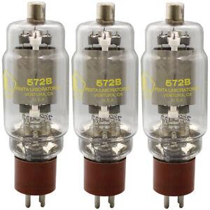 572B Penta Laboratories Power Triode Matched Trio (3) Tubes