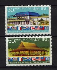Nauru 1975 SG#137-8 S. Pacific Commission MNH Set