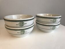 Lot of 4 Vintage American Legion Soup Chili Bowls Sterling China Restaurant Ware