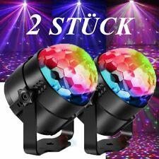 Diskokugel Disco Ball Lichteffekte RGB LED Stage Partylicht Magic Fernbedienung